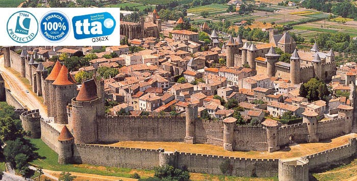 £199 for 3 Nights in Carcassonne, France with Return Flights - Low Deposit Required