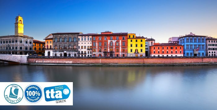 £199 for 3 Nights in Pisa with Return Flights - Low Deposit Required