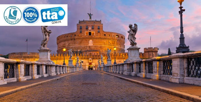 £199 for 3 Nights in Rome with Return Flights - Low Deposit Required