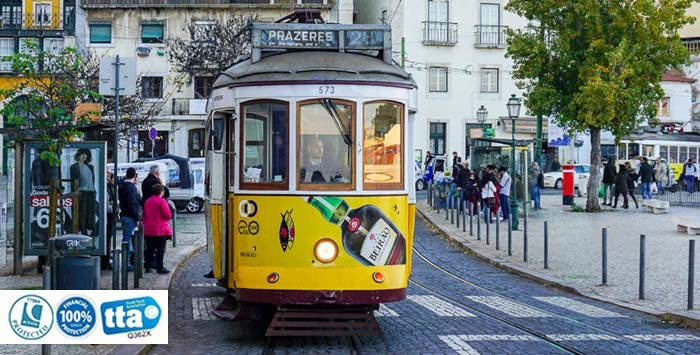£235 for 3 Nights in Lisbon with Return Flights - Low Deposit Required