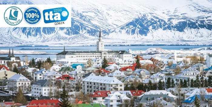 £315 for 4 Nights in Reykjavik with Return Flights - Low Deposit Required