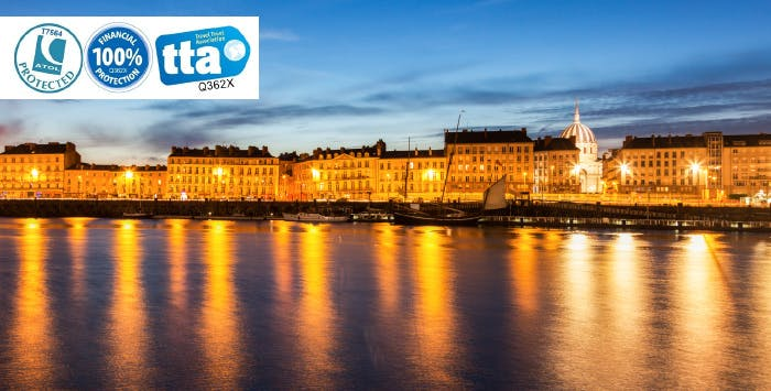 £235 for 3 Nights in Nantes, France with Return Flights - Low Deposit Required
