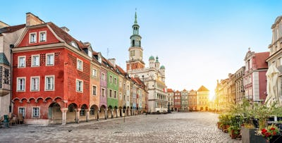 £199 for 3 Nights in Poznań with Return Flights - Low Deposit Required