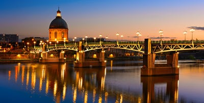 £200 for 3 Nights in Toulouse, France with Return Flights - Low Deposit Required