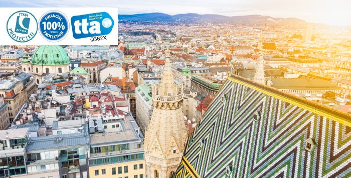 £250 for 3 Nights in Vienna with Return Flights - Low Deposit Required