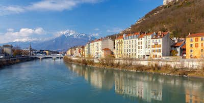 £315 for 7 Nights in Central Grenoble Hotel with Return Flights - Low Deposit Required