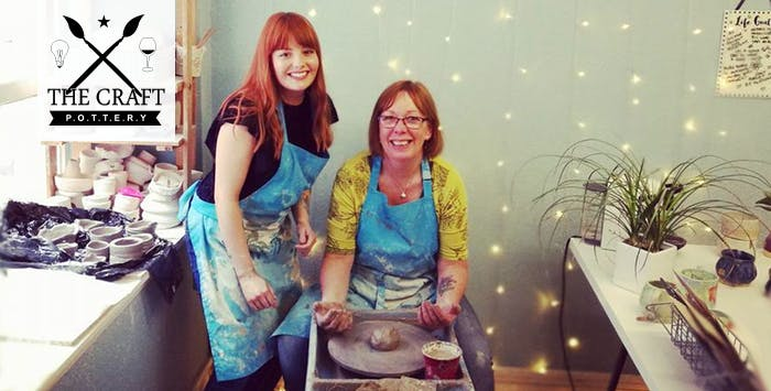 Pottery Wheel Experience for 1 or 2 with Open House Studio, from £35