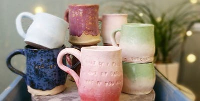 £15 for a Make Your Own Mug Group Session for 1 with Open House Studio