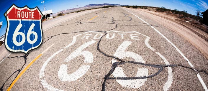 Drive Route 66 - Chicago to Los Angeles, from £1299