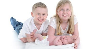 £17 for a Family Photoshoot + 5 Prints to Take Away