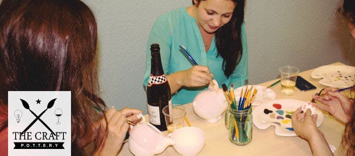 £5 for a Pottery Painting Experience