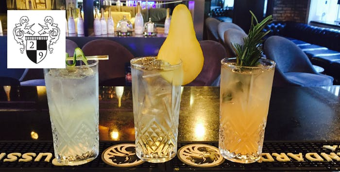 £18 for 4 Cocktails + Dessert to Share