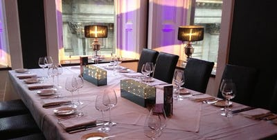 Private Dining Experience with Prosecco for 8-20 People, from £25 per person