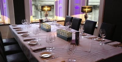 £199 for a Private Dining Experience with Champagne for 8
