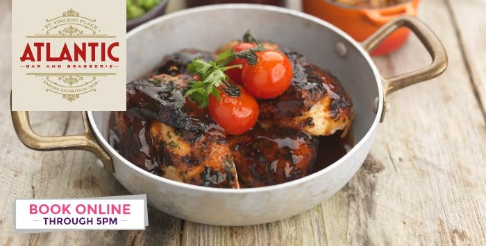 £25 for a Rotisserie Chicken & 3 Sides + Dessert to Share between 2