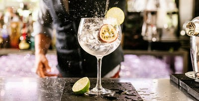£35 for a Gin Masterclass + 2 Course French Dinner.