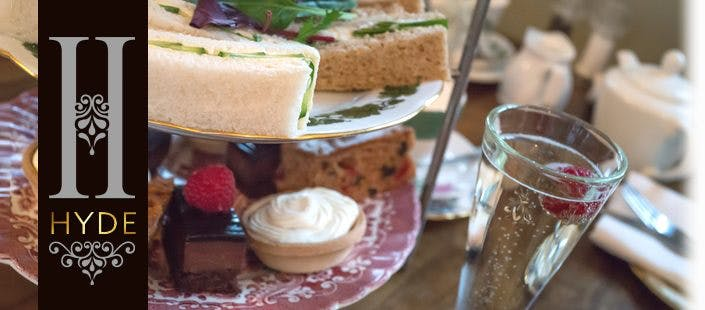 £17.95 for Afternoon Tea with Prosecco for 2
