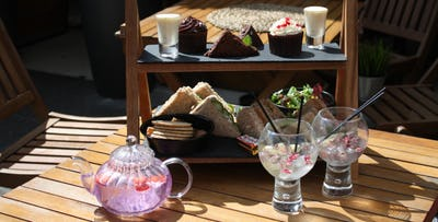 Afternoon Tea with Gin Teapot for 2 or 4; from £24