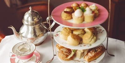 £19 for Afternoon Tea + Boe Gin Cocktail Teapot for 2