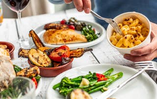 Outdoor Meal + Fizz for 2