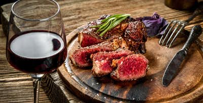 Steak + Wine for 2, from £18