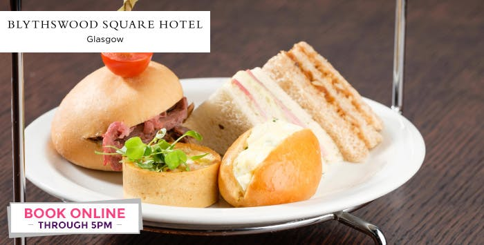 £49 for Luxury Afternoon Tea for 2