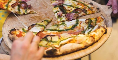 £8 for Wood-Fired Pizzas + Beer for 2