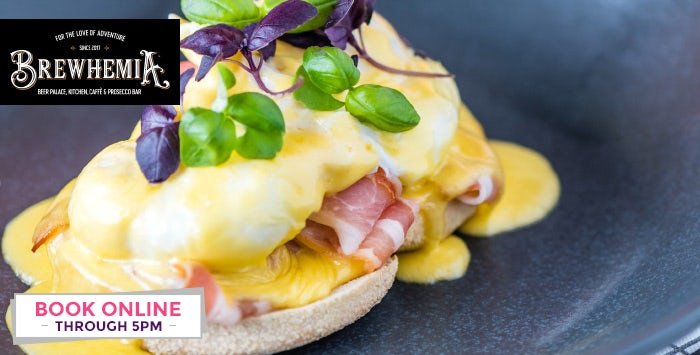 £33 for a Boozy Brunch for 2