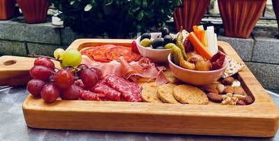 £18 for a Charcuterie Board to Share + Glass of Wine Each for 2