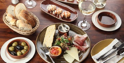 £22 for 5 Spanish Tapas + 2 Desserts to Share for 2