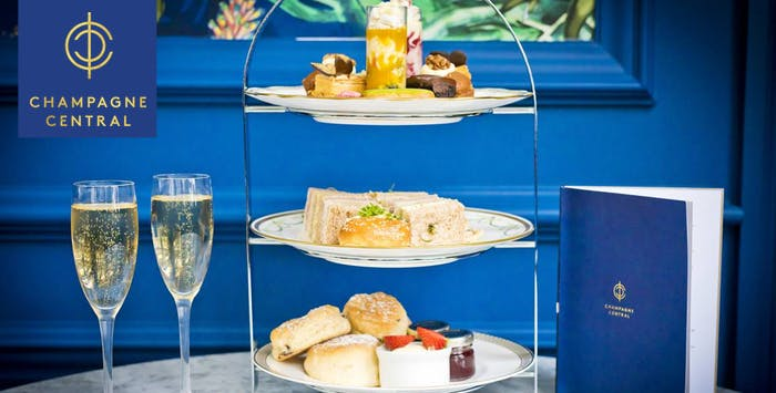 £28 for a Champagne Afternoon Tea for 2