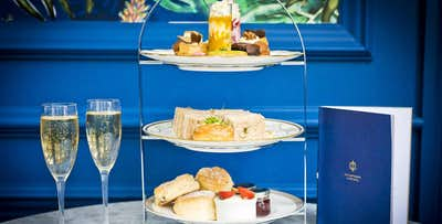 £27 for a Champagne Afternoon Tea for 2