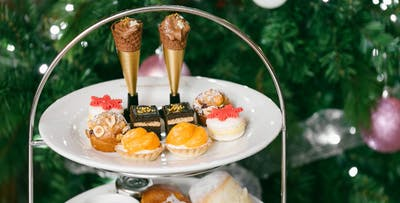 Festive or Sparkling Afternoon Tea for 2; from £22