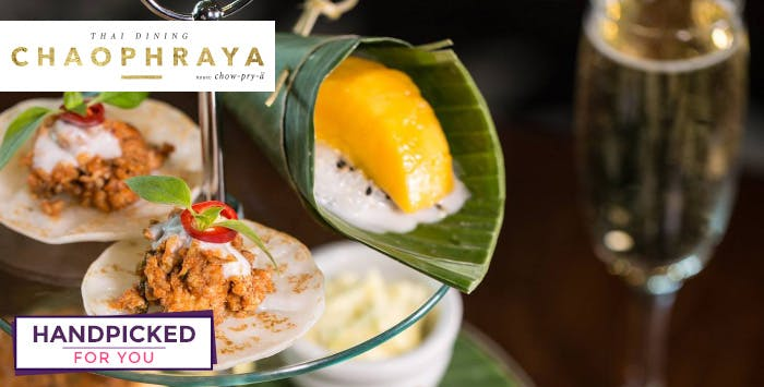 £19 for Thai Afternoon Tea for 2