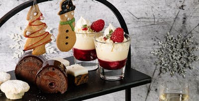 £34 for Festive Afternoon Tea with Gin Cocktail Teapot or Prosecco for 2