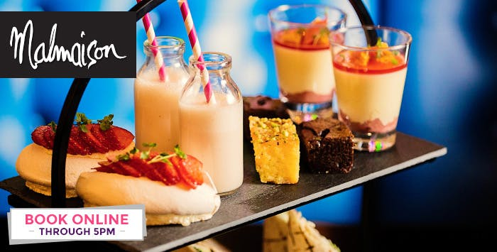 £34 for Hendrick's Afternoon Tea for 2 at Chez Mal Bar
