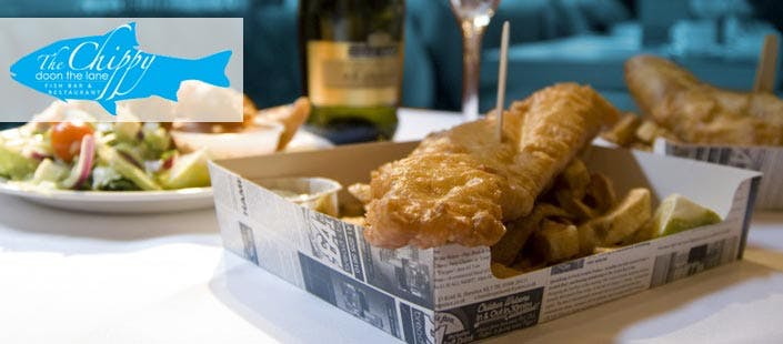 £12 for a Sit-In Fish Supper for 2