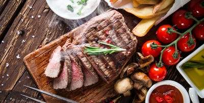 £49 for Chateaubriand Steak + Bottle of Champagne to Share for 2