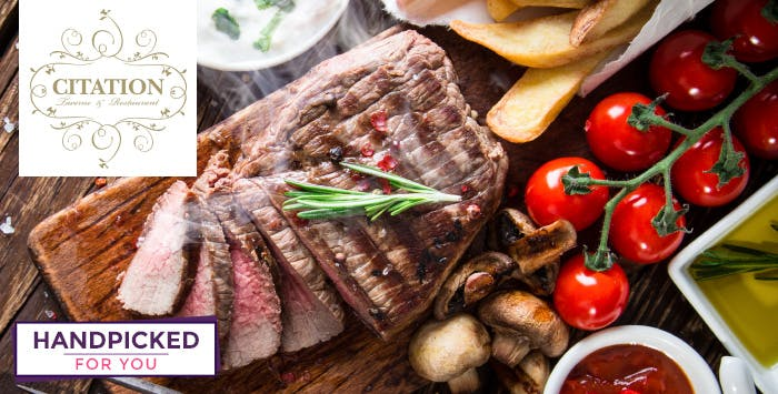 £49 for Chateaubriand Steak to Share + Bottle of Champagne for 2