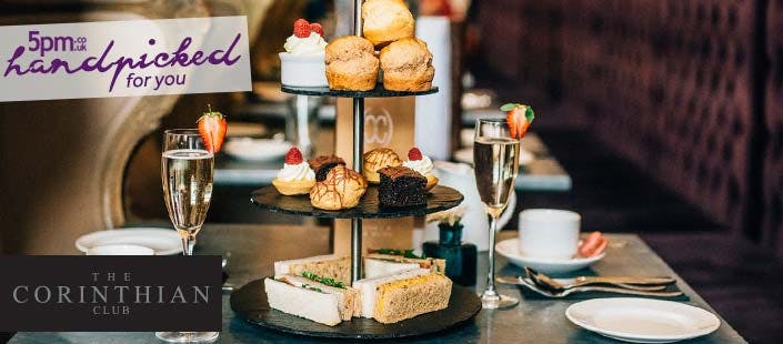 £26 for Afternoon Tea + Glass of Pinot Blush for 2