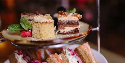 £22 for Afternoon Tea with Pink Prosecco for 2