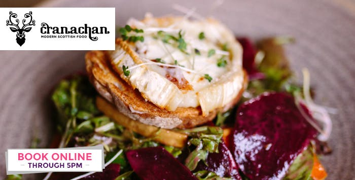 Main Course + Optional Bottle of Wine for 2; from £12