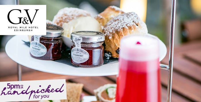 £39.95 for Prosecco Afternoon Tea for 2