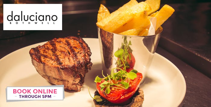 £20 for a 2 Course Meal with Prosecco for 2