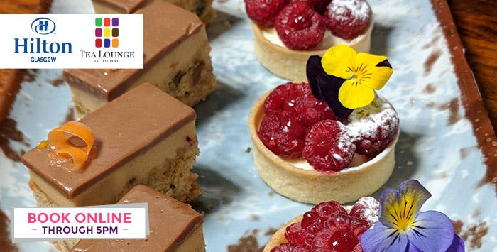 £39 for a Luxury Dilmah Afternoon Tea Experience with Bottle of Fizz for 2