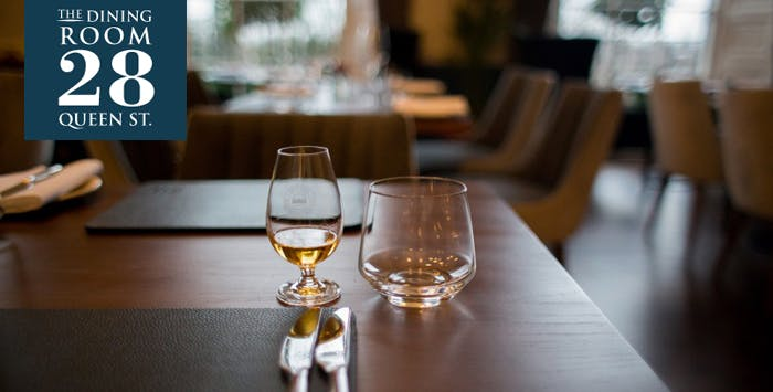 3 Course Dinner + Whisky Tasting Experience in The Dining Room; from £35