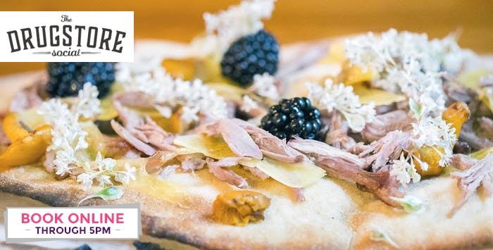 £6.95 for Live Well Flatbreads for 2