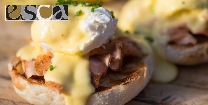 £9.50 for Brunch with Tea or Coffee for 2