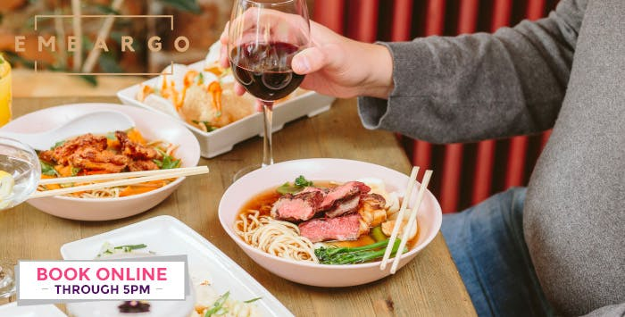 Ramen Dish or Burger Each + Optional Drink for 2, from £12