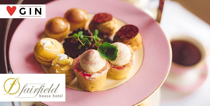 £15 for Afternoon Tea with Hendrick's Gin + Tonic for 2
